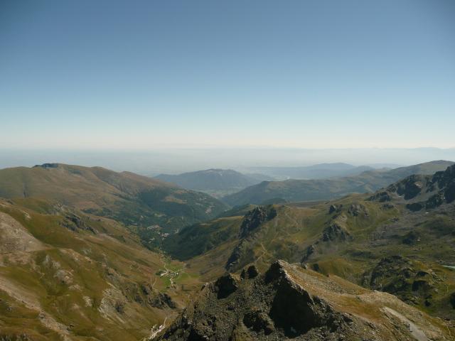 Le panorama sur la plaine du Pô.