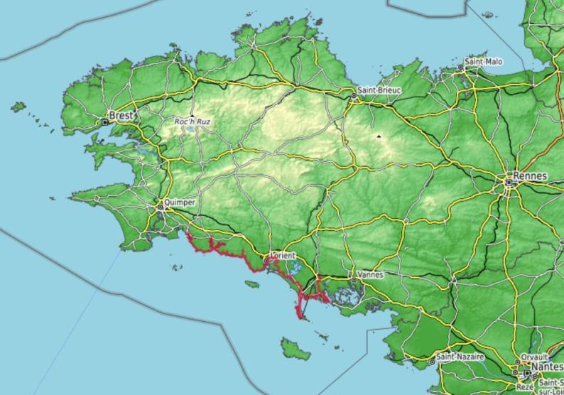 Récit Liste Tour De Bretagne Par Le Gr 34 De Concarneau