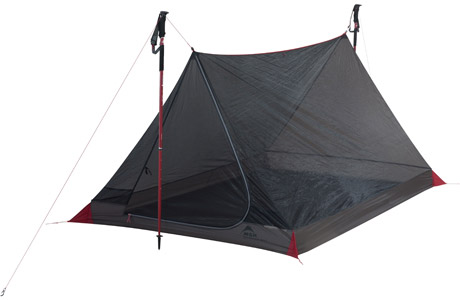 MSR - Thru-Hiker Mesh House 2 Trekking Pole Shelter