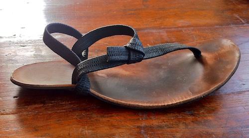 Chaussures Sandales Minimalistes En Li 232 Ge L Atelier