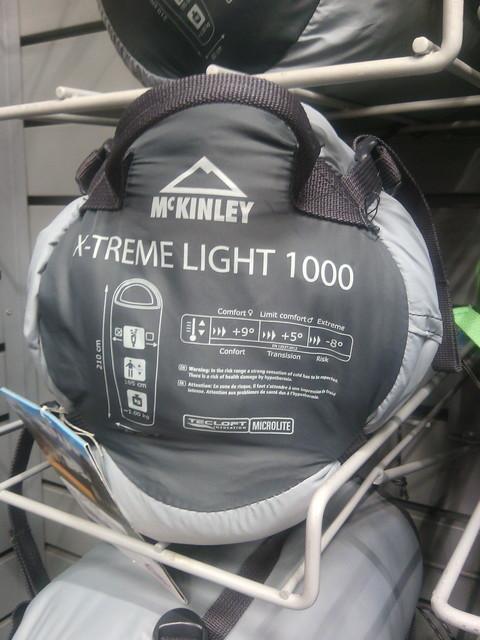 Treme Light X Mc 3 1000 Couchage page Et Kinley Découvertes qRPtExa