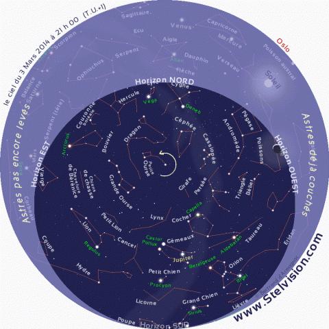9782953860351: <b>Stelvision</b> 365 : Une <b>carte</b> <b>du</b> <b>ciel</b> pour repérer...
